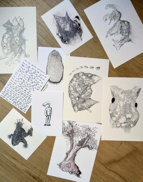 Collection de reproduction de dessin