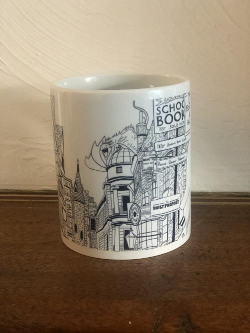 Mug Chemin de Traverse - Harry potter