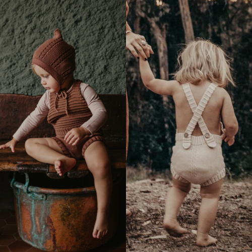THE SIMPLE FOLK - The Knit Romper