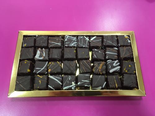 pâtes de fruits enrobées chocolat