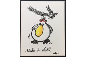Poule de Noel