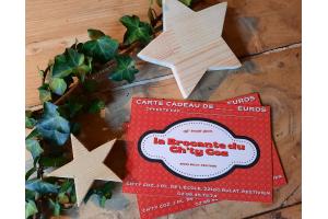 Carte cadeau de 60 euros