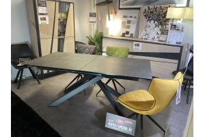 Table rectangle plateau céramique