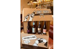 Calendrier de l'AVENT Bières artisanales Bio locales et d'ailleurs