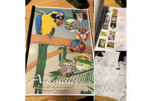 Livre de Coloriages : Animaux d'ici et d'ailleurs